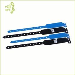 Hot Sale Customized Printable NFC Topaz512 Disposable PVC Wristband